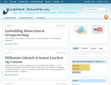 Tablet Preview of caspercamps.nl